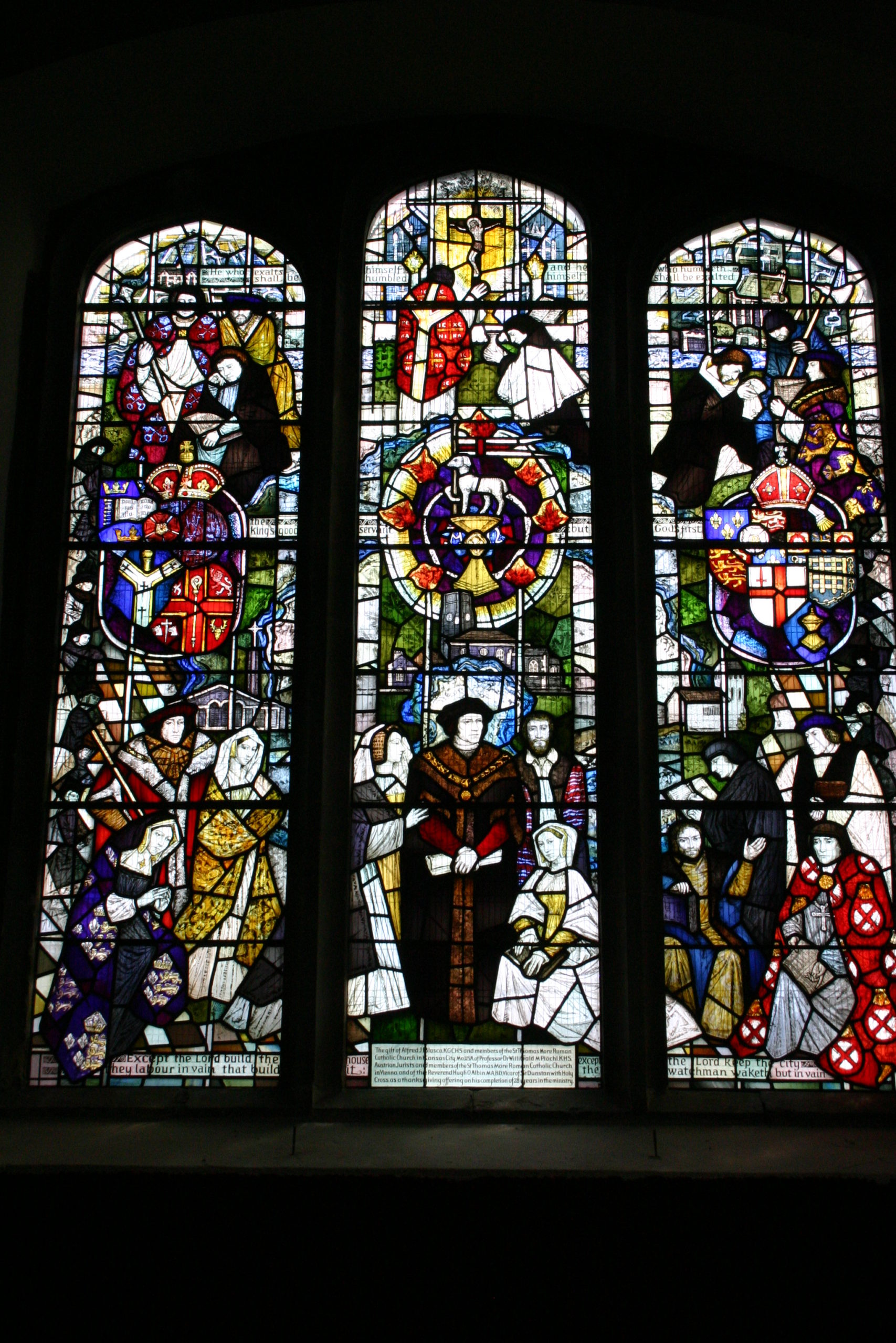 Thomas More and Family Window